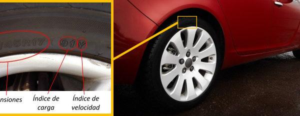 Homologar neumáticos