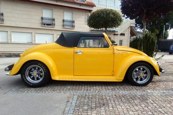 Frenos y suspensión en VW Escarabajo