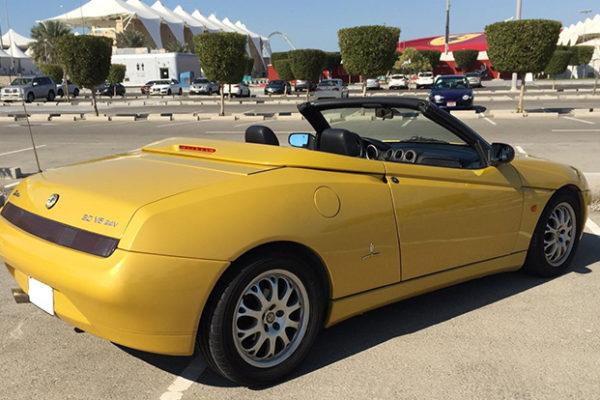 Proyectos Lence Ingeniería - Ficha reducida de Alfa Spider