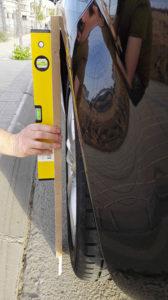 Medir la Anchura del vehículo - Lence Ingeniería