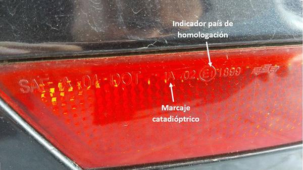 Marcado luces Catadióptrico - Lence Ingeniería