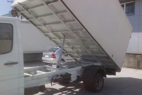 Transf. en camión basculante