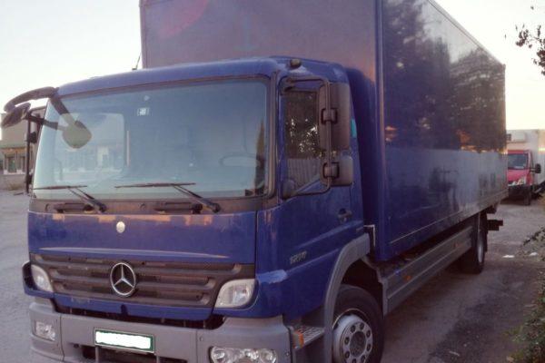 Homologación individual Mercedes Atego