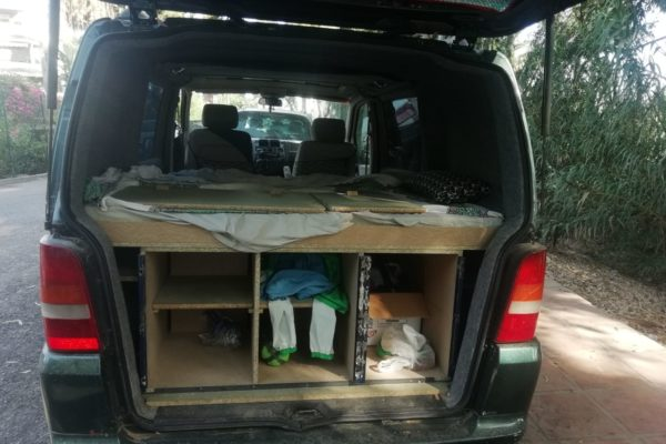 Reducción de plazas y tapizado