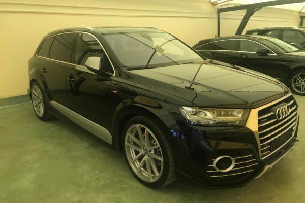 Instalación kit exterior ABT y neumáticos en Audi Q7